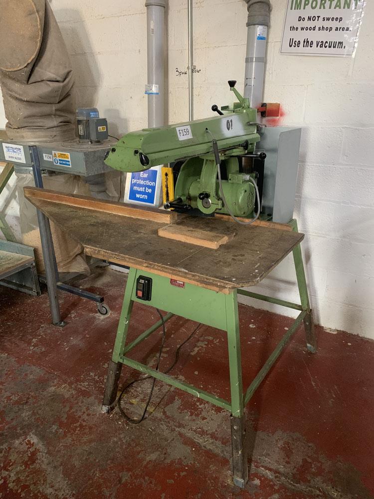 Multico Model C2/3 Radial Wood Saw. Serial No. 708.