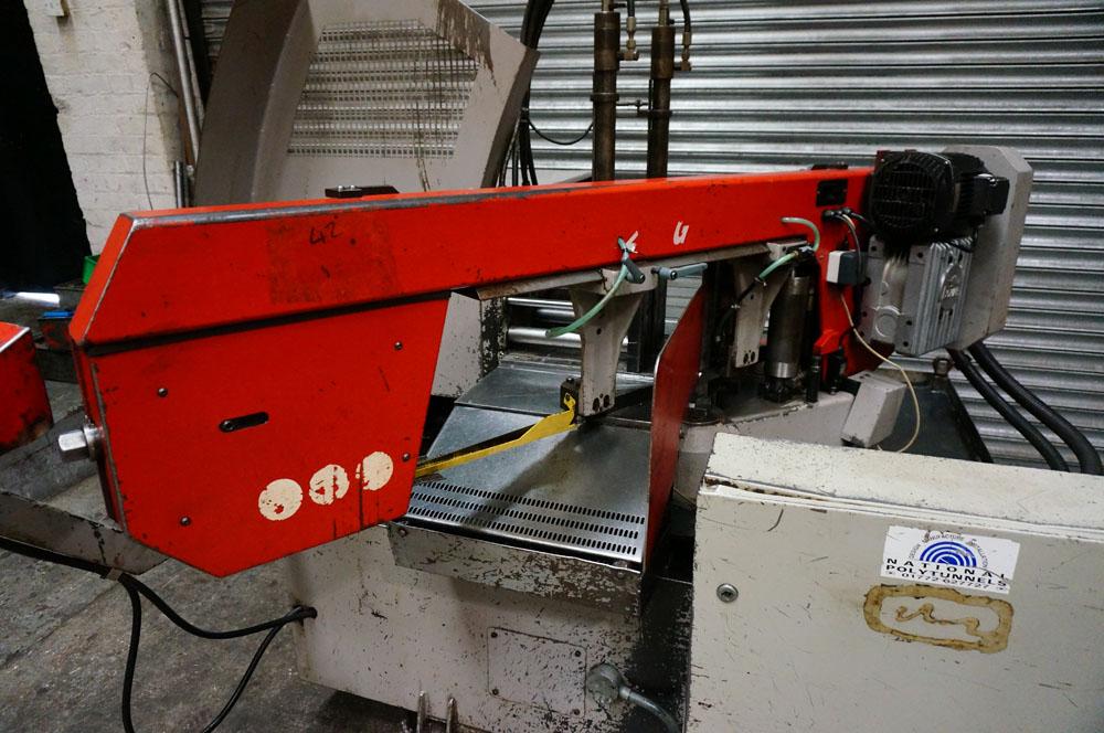 Bomar Model STG 260 GA Fully Automatic Mitering Bandsaw - Image 2 of 5