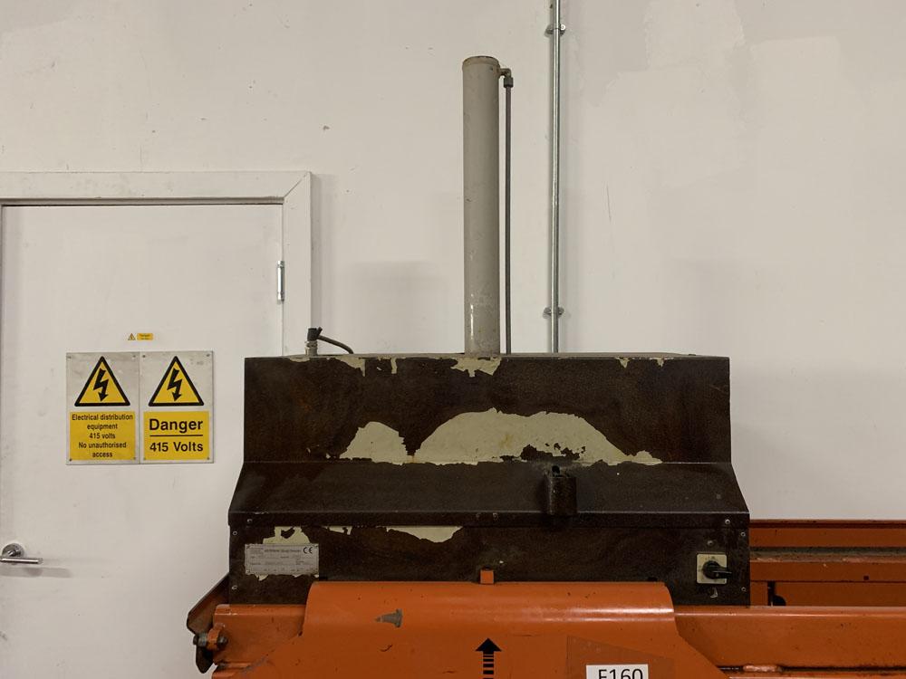 AB ORWAK Type 5070 Twin Cardboard Bailing Machine. - Image 4 of 5