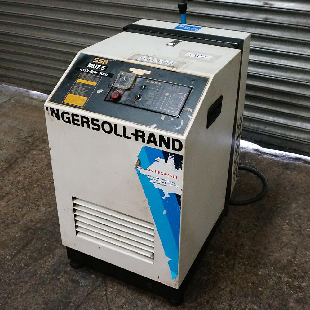 Ingersoll Rand Model SSR MV7.5 Air Compressor - Image 2 of 3