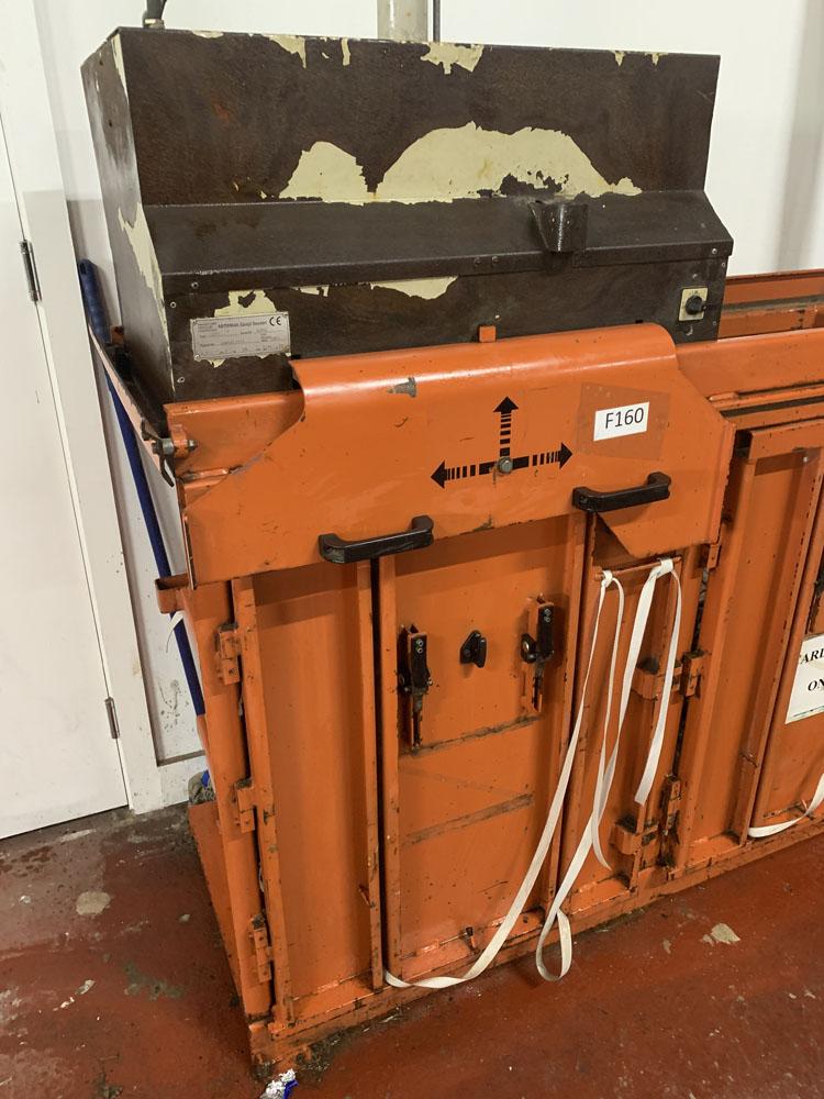 AB ORWAK Type 5070 Twin Cardboard Bailing Machine. - Image 2 of 5
