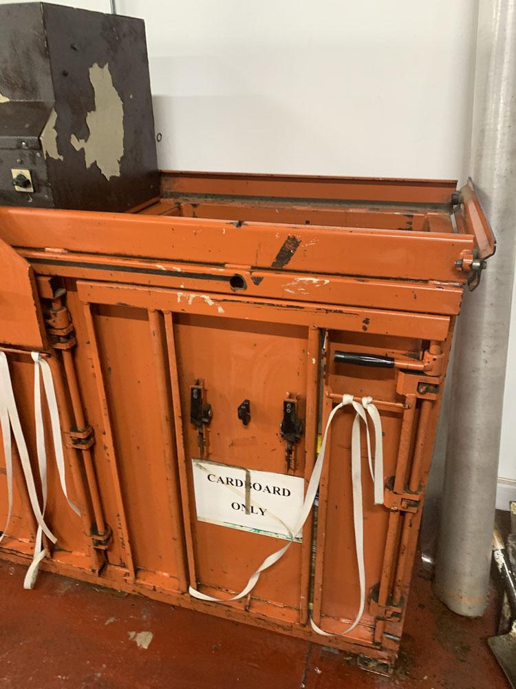 AB ORWAK Type 5070 Twin Cardboard Bailing Machine. - Image 3 of 5