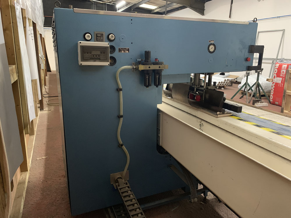 Flodins Plastic Sheet Seam Welding Machine. Table Length 17,500mm. - Image 12 of 15