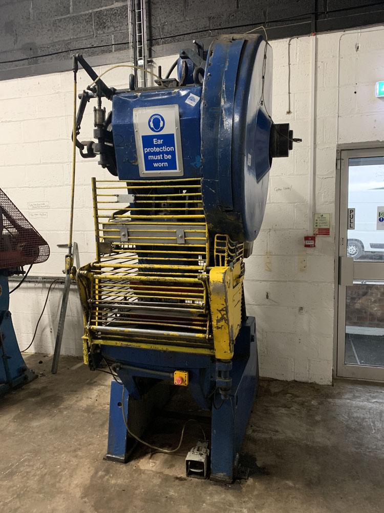 HME Cincinnati GP40 Power Press. 40 Ton Capacity. - Image 2 of 3