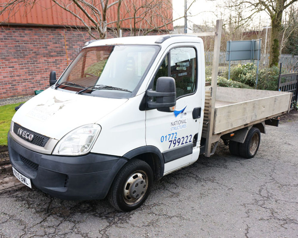 IVECO, 35C11, Twin Wheel MVB Pickup, 2010 (10 reg)