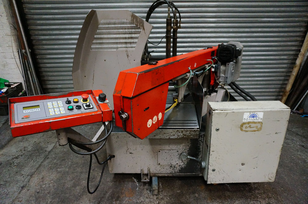 Bomar Model STG 260 GA Fully Automatic Mitering Bandsaw