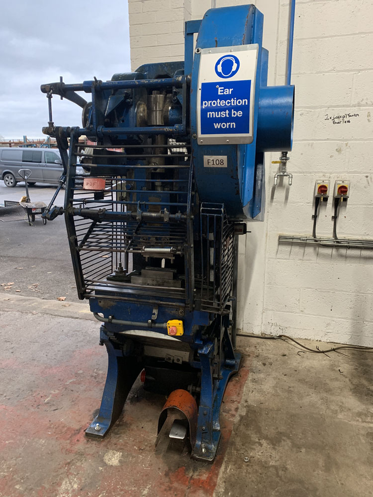 Taylor & Challen 20 Ton Power Press. - Image 2 of 3