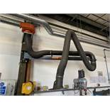 """Kemper Swing Jib Fume Extraction System. Max 50kg Arm Capacity. Length of Arm approx 7' (84"""")."""
