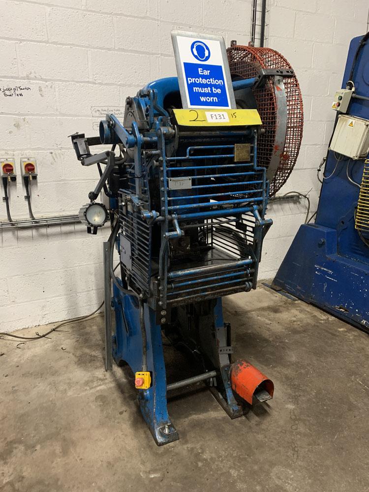 HME LM12 Power Press. 12 Ton Capacity.