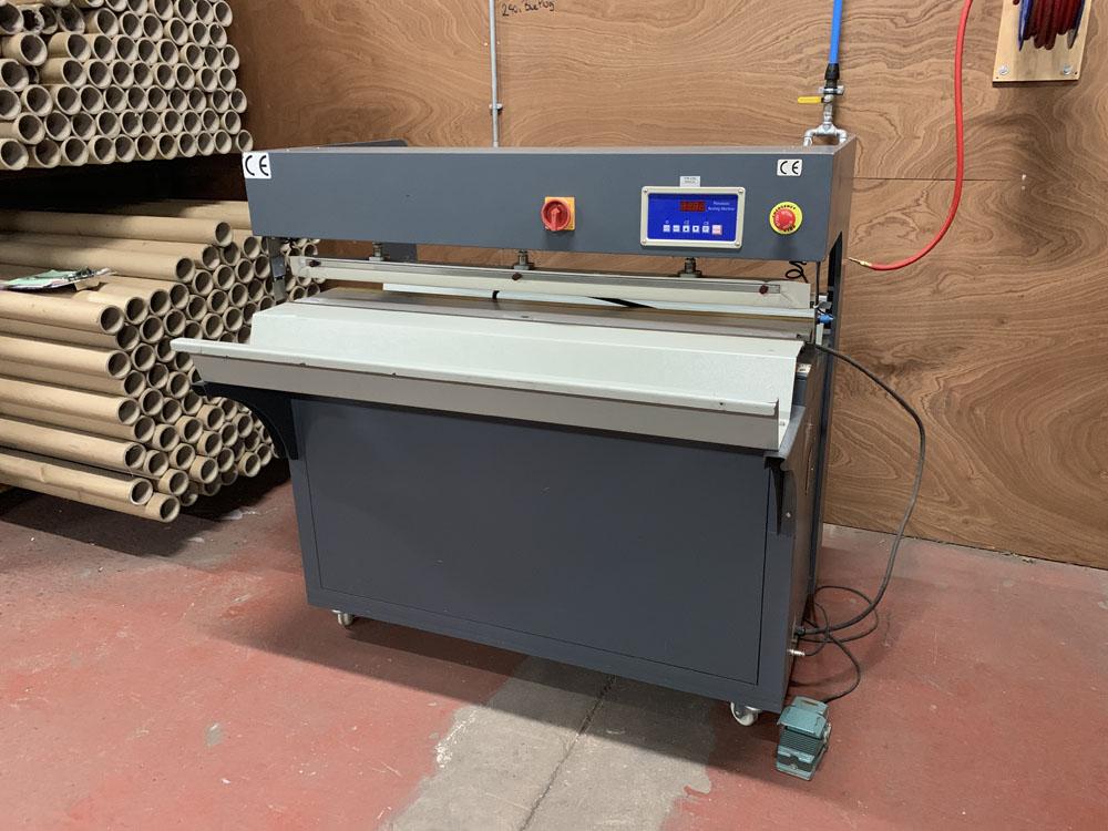 TTF Ltd Model FMQP Pneumatic Sealing Machine. Single Phase. Year 2013.