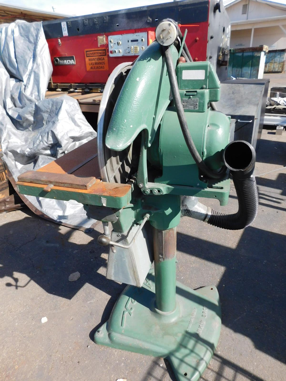 "Lot 49 - APEX 20"" DISC GRINDER, 1-1/2 HP, 220/440V, 3-PHASE"