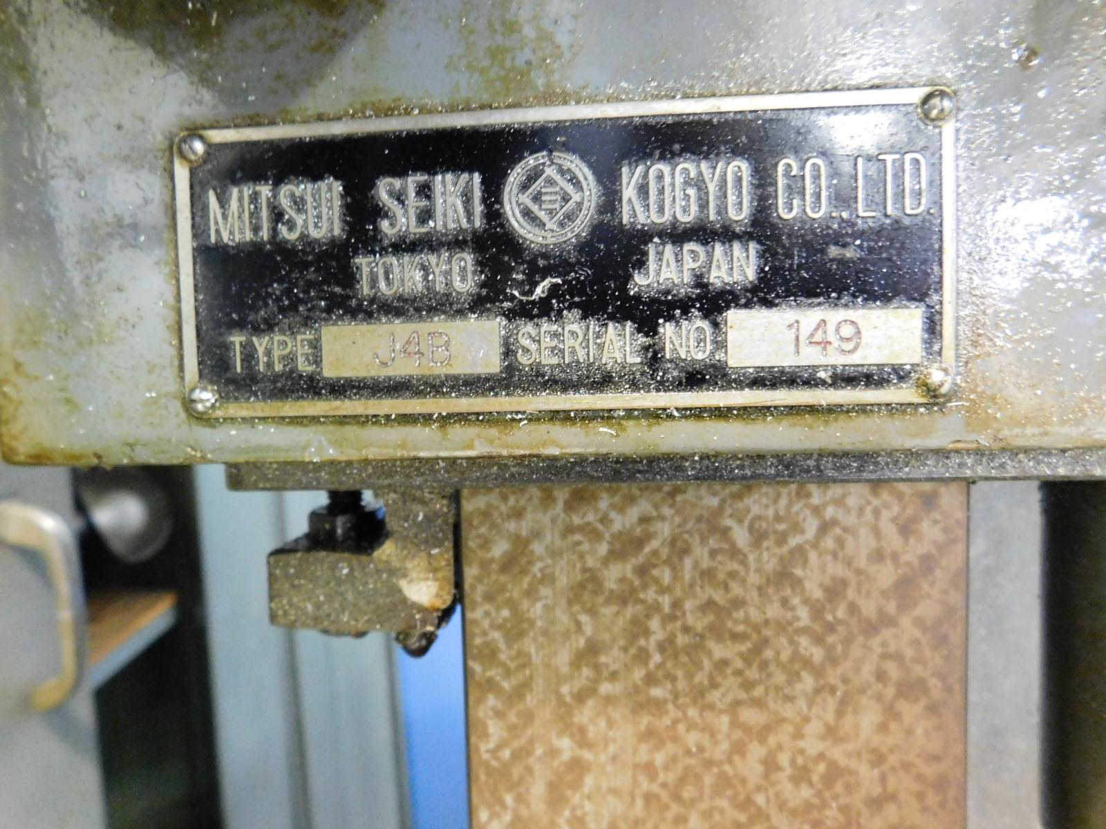 Lot 18 - MITSUI SEIKI JIG MILL, MODEL J4B, S/N 149