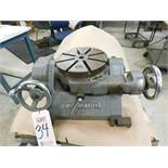 "MITSUI SEIKI TYPE TTD 9"" TILTING ROTARY TABLE, S/N 401"