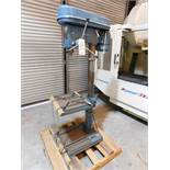 "FREJOTH 22"" DRILL PRESS, MODEL CH-25, S/N 1204911, FLOOR STAND, 12-SPEED, NO CHUCK"