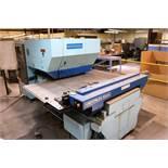 """WIEDEMANN CENTRUM C-1000 PUNCH PRESS, FANUC 6M CNC CONTROL, 16-TON CAPACITY, 40"""" X 40"""" TABLE, 20-"""