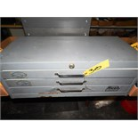 HUOT 3-DRAWER DRILL INDEX CABINET