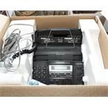 A Panasonic KX-FP155E fax machine (as new)