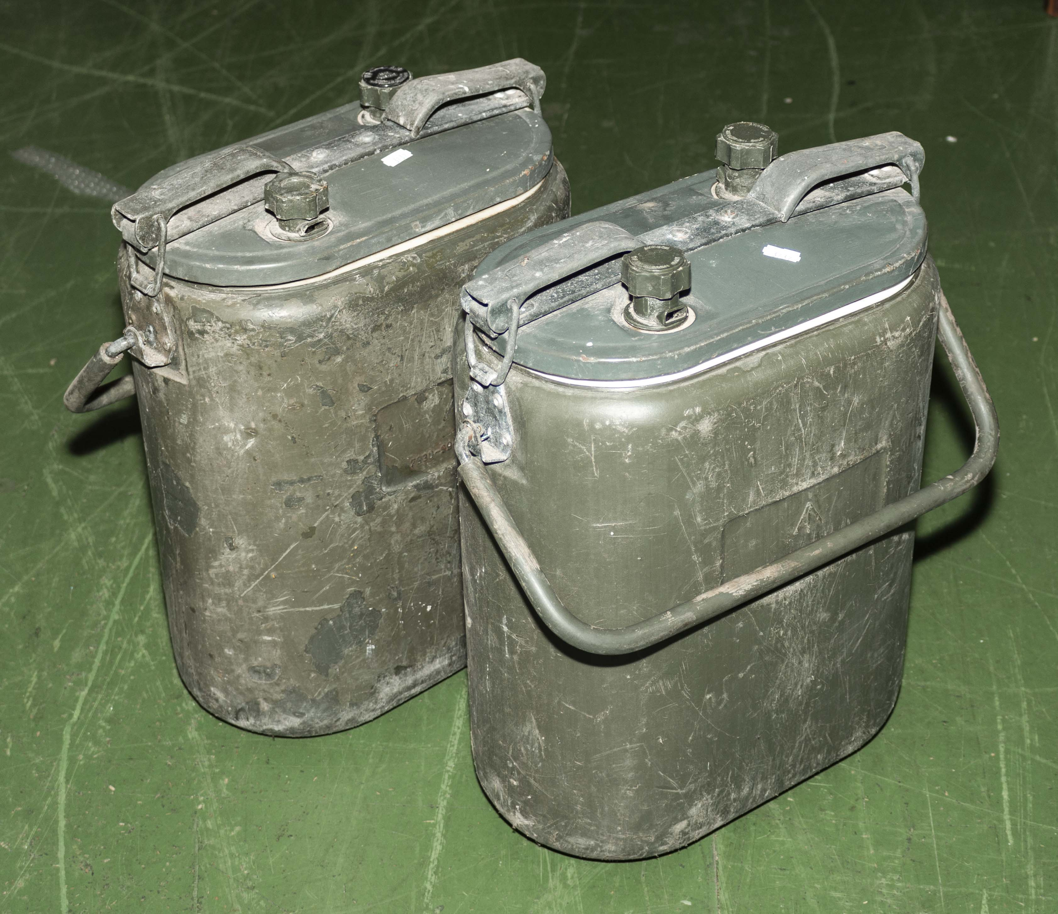 Lot 46 - Two water tubs