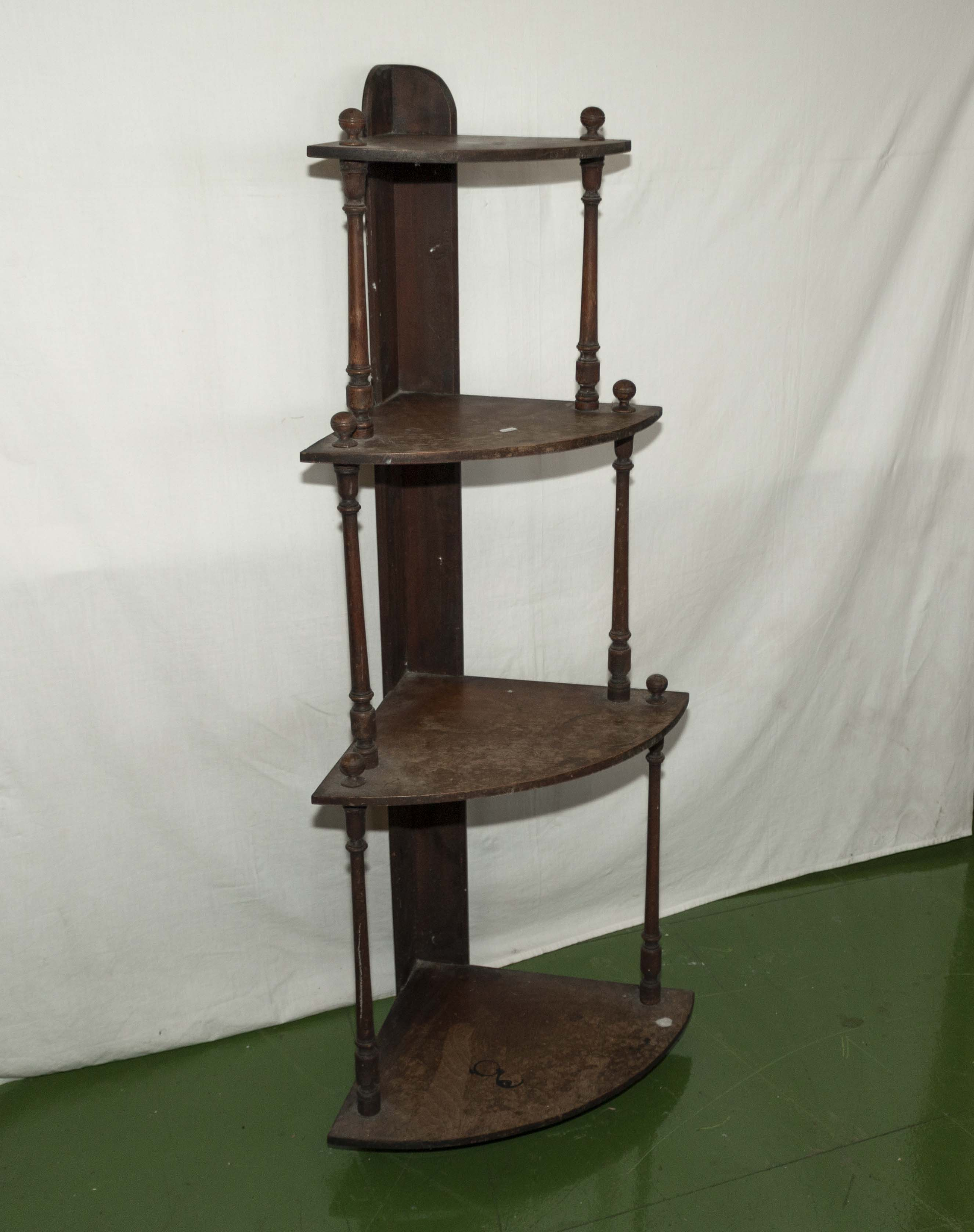 Lot 1 - A four tier whatnot