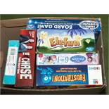 A selection of children's board games