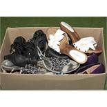 A box of lady's shoes