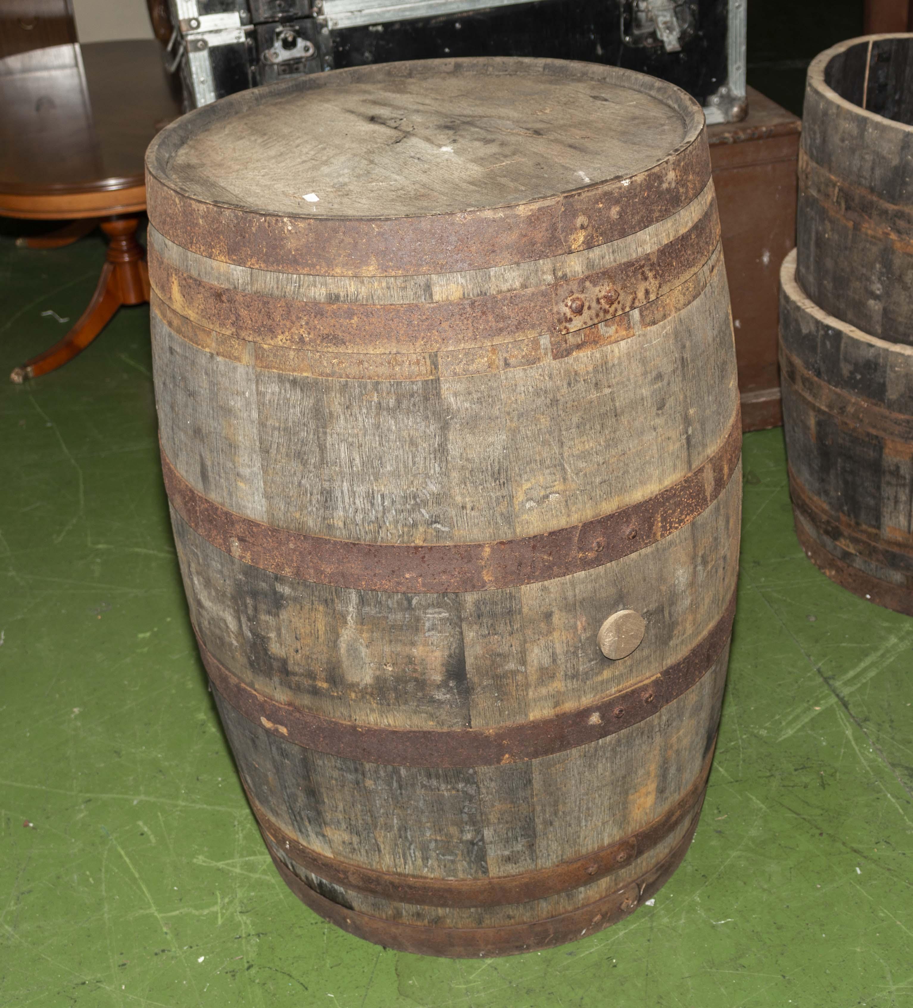 Lot 3 - A barrel