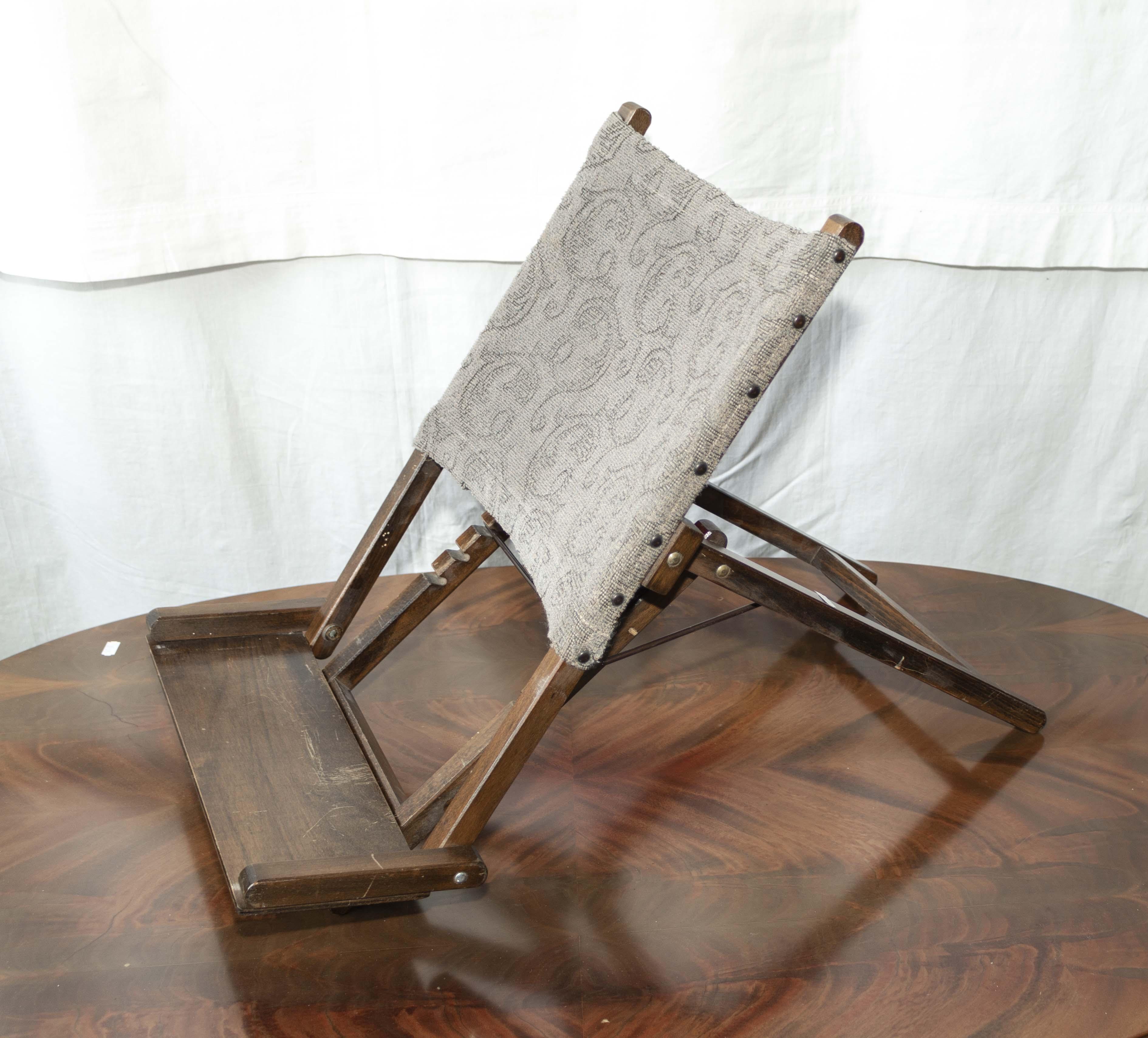 Lot 42 - Gout stool