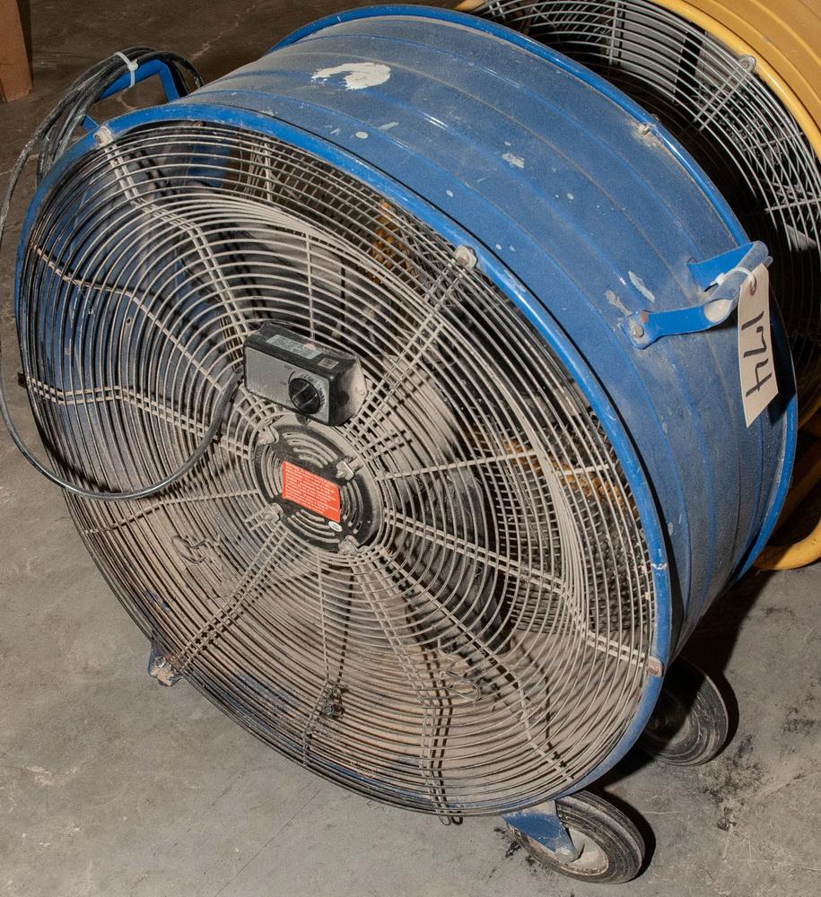 28 Inch Barrel Fan