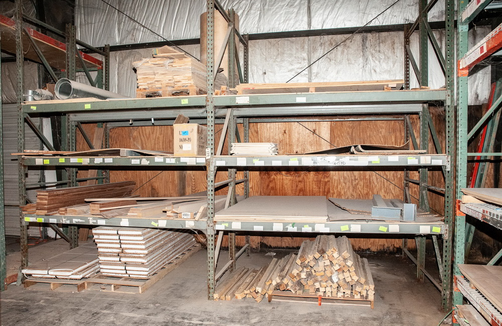 (4) Sections Pallet Rack, Interlake Style