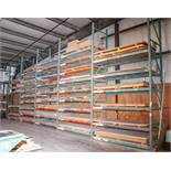 (5) Sections Pallet Rack, Interlake Style