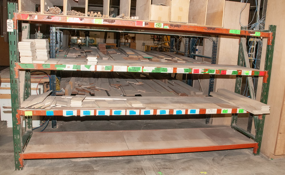 (1) Section Pallet Rack