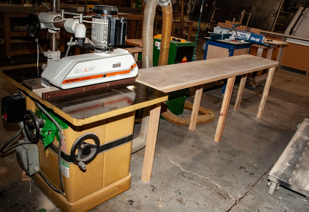 Powermatic Model 66, 10 Inch Tilting Arbor Table Saw, s/n 99661870, w/ Steff 2044, roll feed - Image 5 of 5