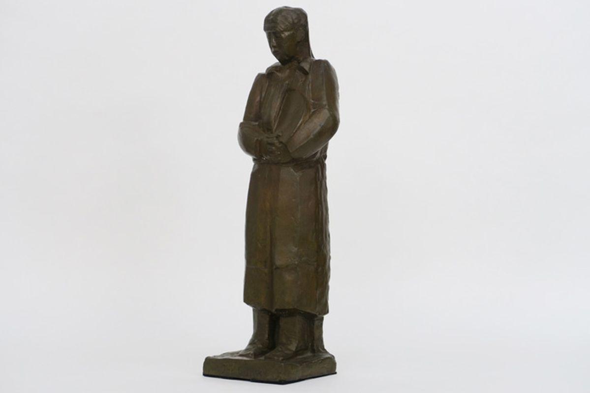 Los 42 - CANTRÉ JOZEF (1890 - 1957) sculptuur in brons met lichtbruine patine n° 1/6 [...]