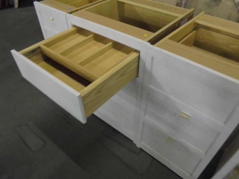 Cooks painted kitchen units mark wilkinson description for 600 kitchen drawer unit