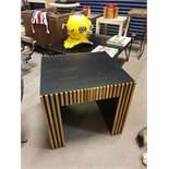Angelica Oak Side Table Thomas Bina