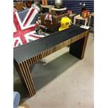 Angelica Oak Console Table Thomas Bina
