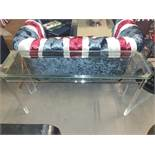 Andrew Martin Augustine Acrylic Console Table