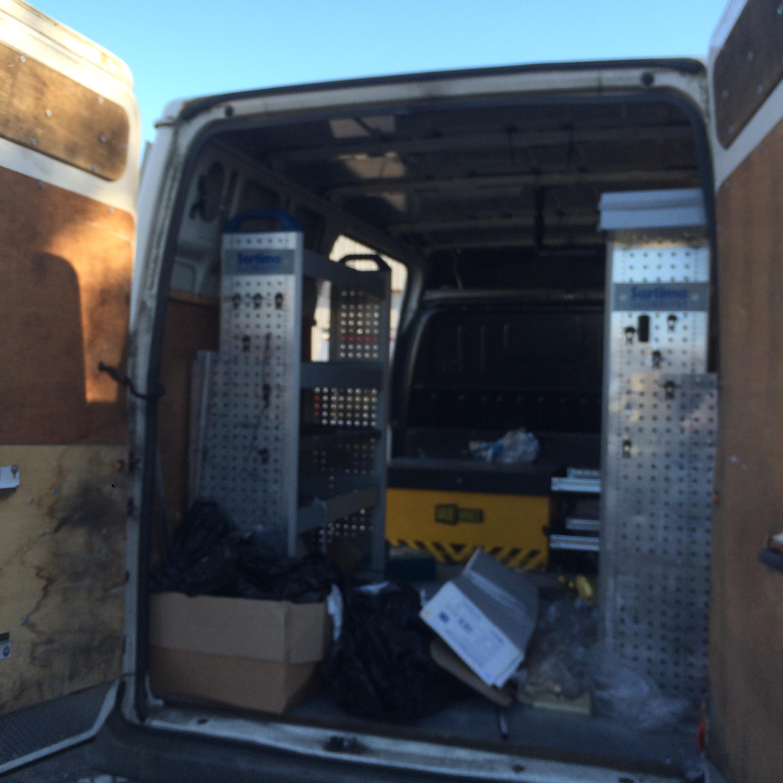 12 Ford Transit 2 2tdci 280s Swb: 55 Plate FORD TRANSIT 280 MWB, White, Panel Van. Taxed