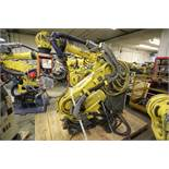 FANUC ROBOT R-2000iB/210F WITH R-30iA CONTROL, TEACH & CABLES, YEAR 2011, SN 112485