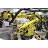 FANUC ROBOT R2000iA/125L WITH R-J3iB CONTROLS, TEACH & CABLES, YEAR 2003, SN 58353, COMP REFURBED