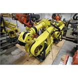 FANUC ROBOT R2000iA/200FO WITH R-J3iB CONTROLS, TEACH & CABLES, YEAR 2003, SN 802966, COMP REURBED