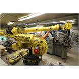 FANUC ROBOT M900iA/400L WITH R-30iA CONTROL, TEACH & CABLES, YEAR 2011, SN 113430