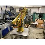 FANUC M16iB/10L WITH RJ3iC (R30iA) CONTROLLER, TEACH & CABLES, YEAR 2006, SN 80306,