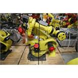 FANUC ROBOT R2000iA/200FO WITH R-J3iB CONTROLS, TEACH & CABLES, YEAR 2005, SN 57906, COMP REFURBED