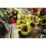 FANUC ROBOT R2000iA/200FO WITH R-J3iB CONTROLS, TEACH & CABLES, YEAR 2003, SN 805283, COMP REFURBED