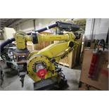FANUC ROBOT M900iA/350 WITH R-30iA CONTROL, TEACH & CABLES, HOURS 6892, YEAR 2011, SN 111705