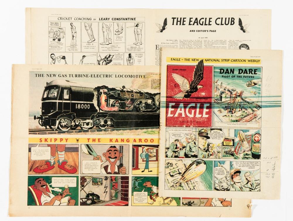 Lot 112 - Eagle Vol 1 No 1 (1950) Pre-publication proof. This printer's proof copy was run off at Sun Printers