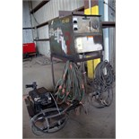 WELDER, MILLER MDL. CP-250TS, 250 amps, 100% duty cycle, Miller R-115 wire feeder, S/N U494412