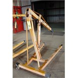 PORTABLE ENGINE HOIST, 2 T. cap.