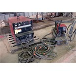 MIG WELDER, LINCOLN MDL. DC600,600 amps @ 44 v., 100% duty cycle, Lincoln Mdl. LN7 wire feeder,